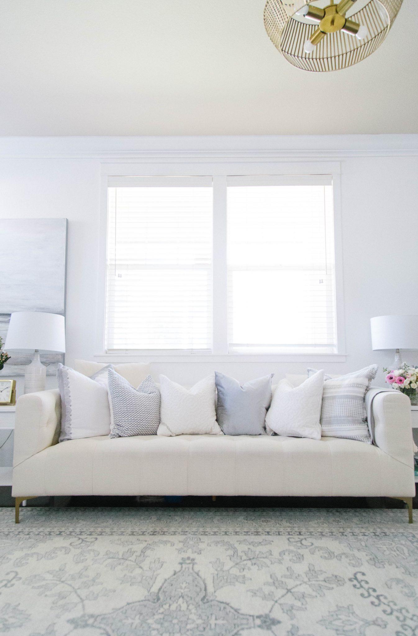 White Chesterfield Sofa from Interior Define