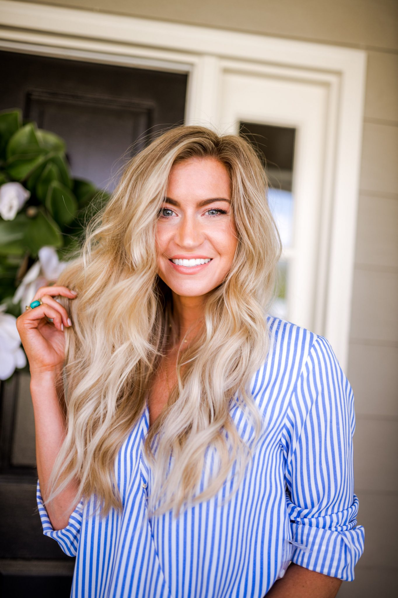 Hair products I use for volume and shine