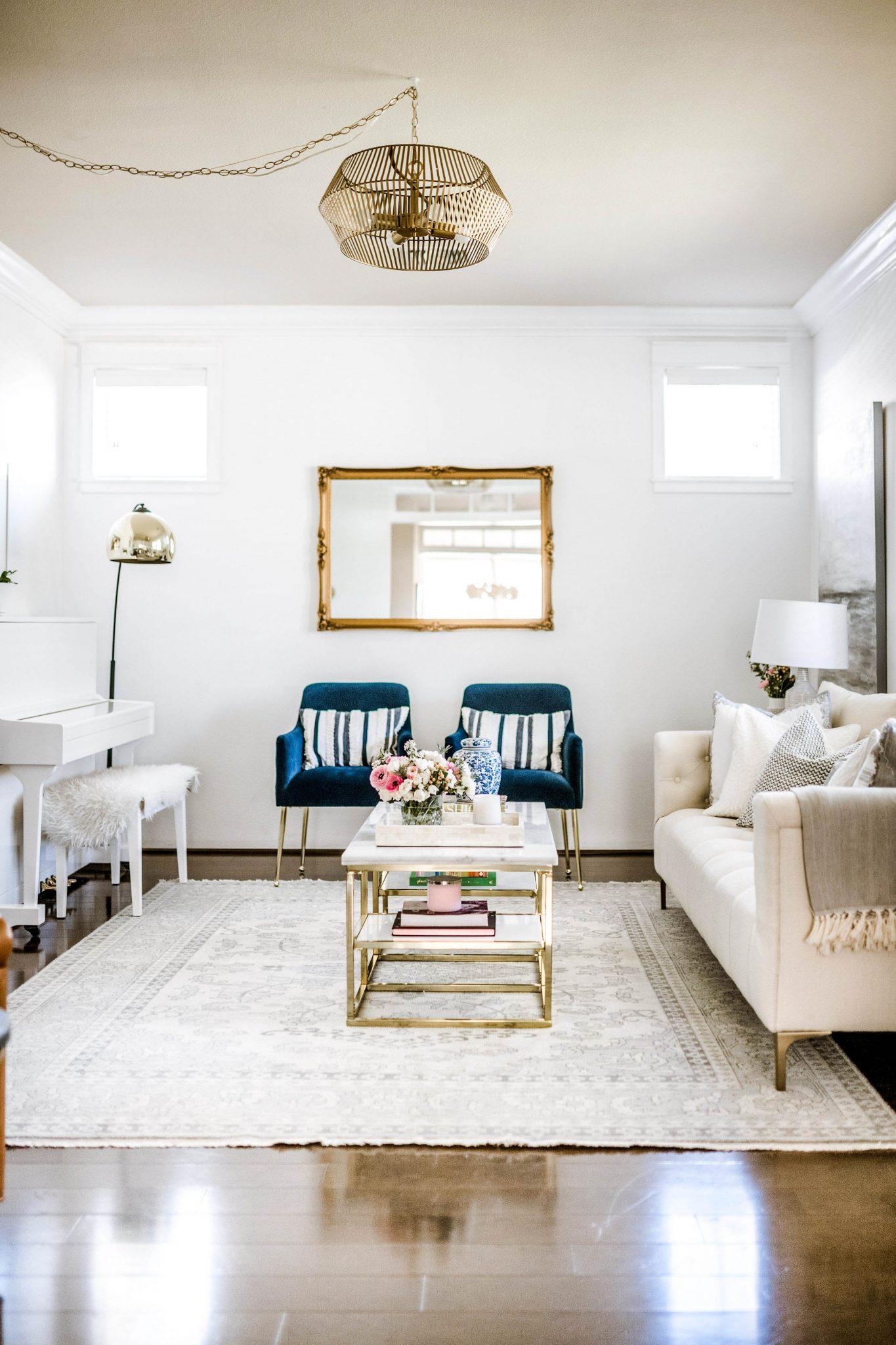 Leanne Barlow's Living Room