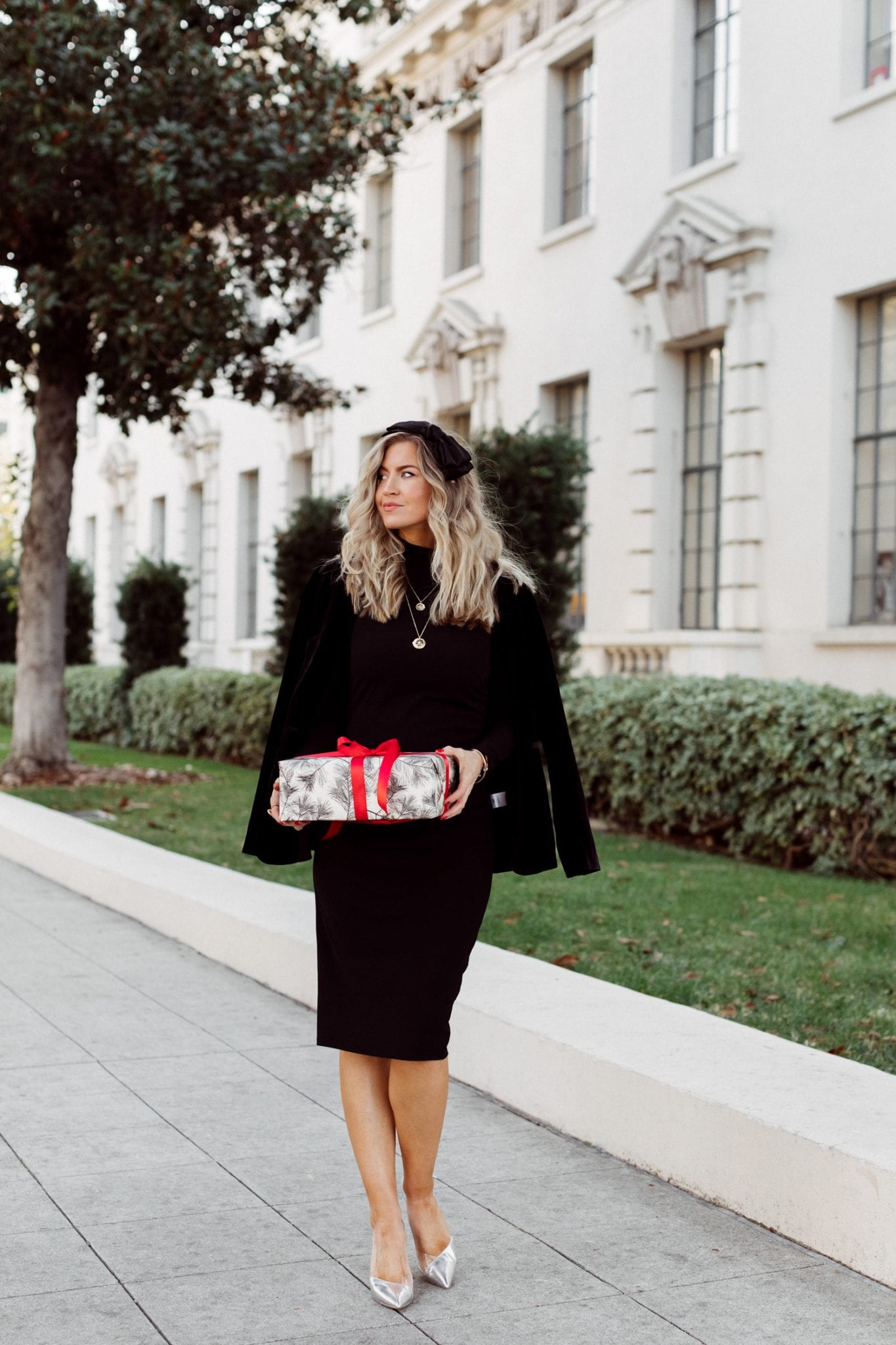 How to style a Little Black Dress for the holidays