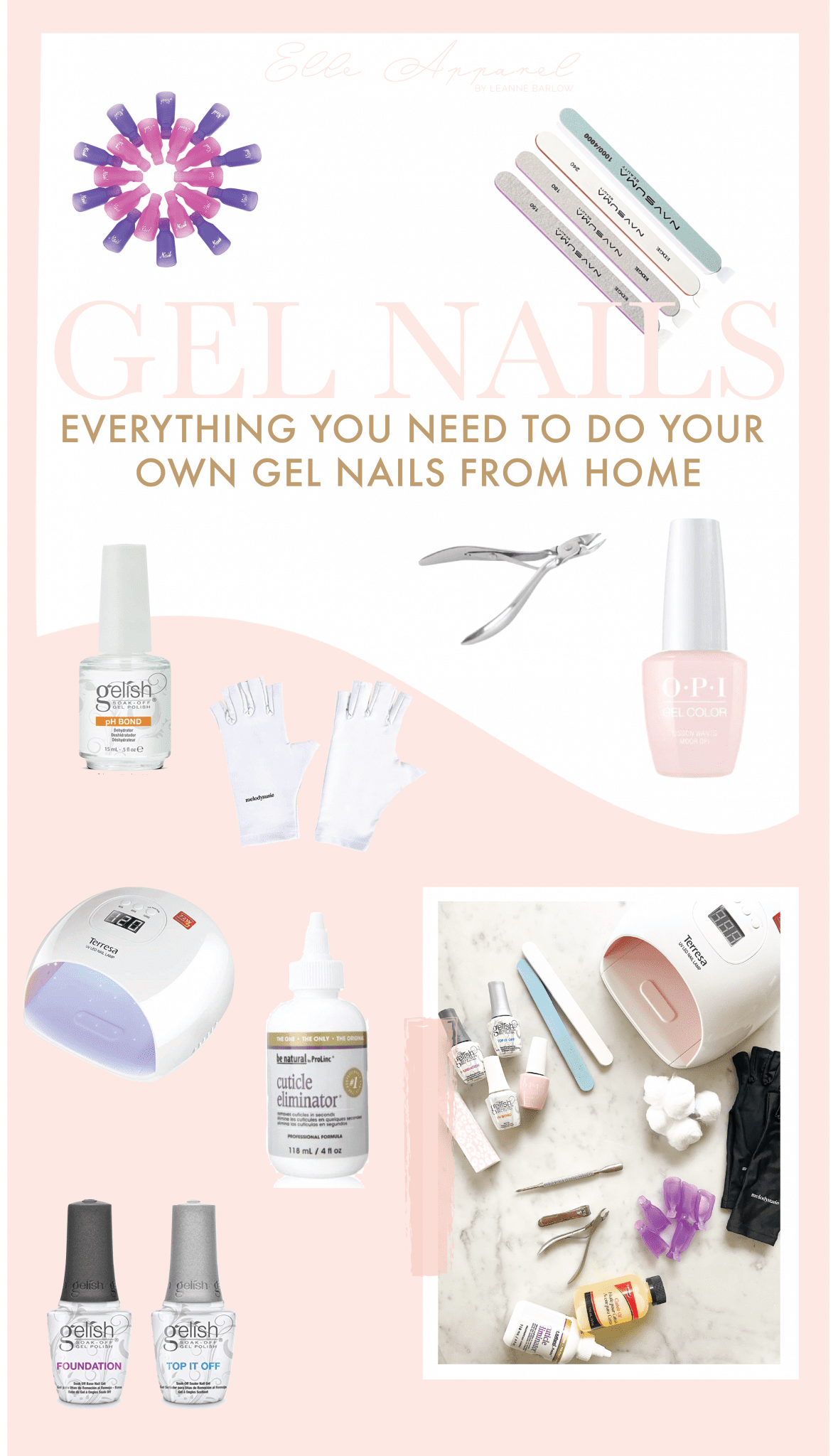 How to remove and do your own gel nails from home