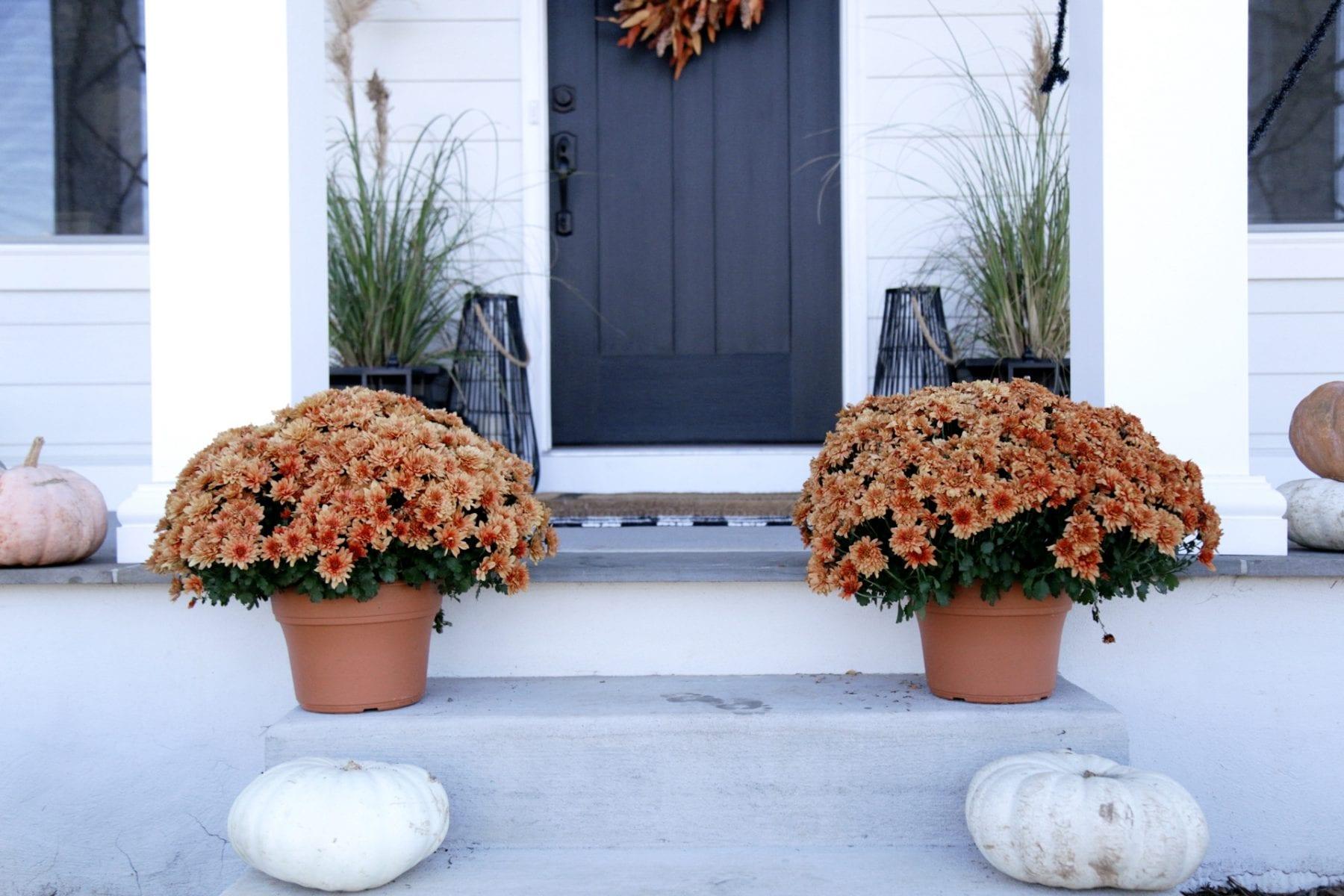 Halloween porch decorations Leanne Barlow