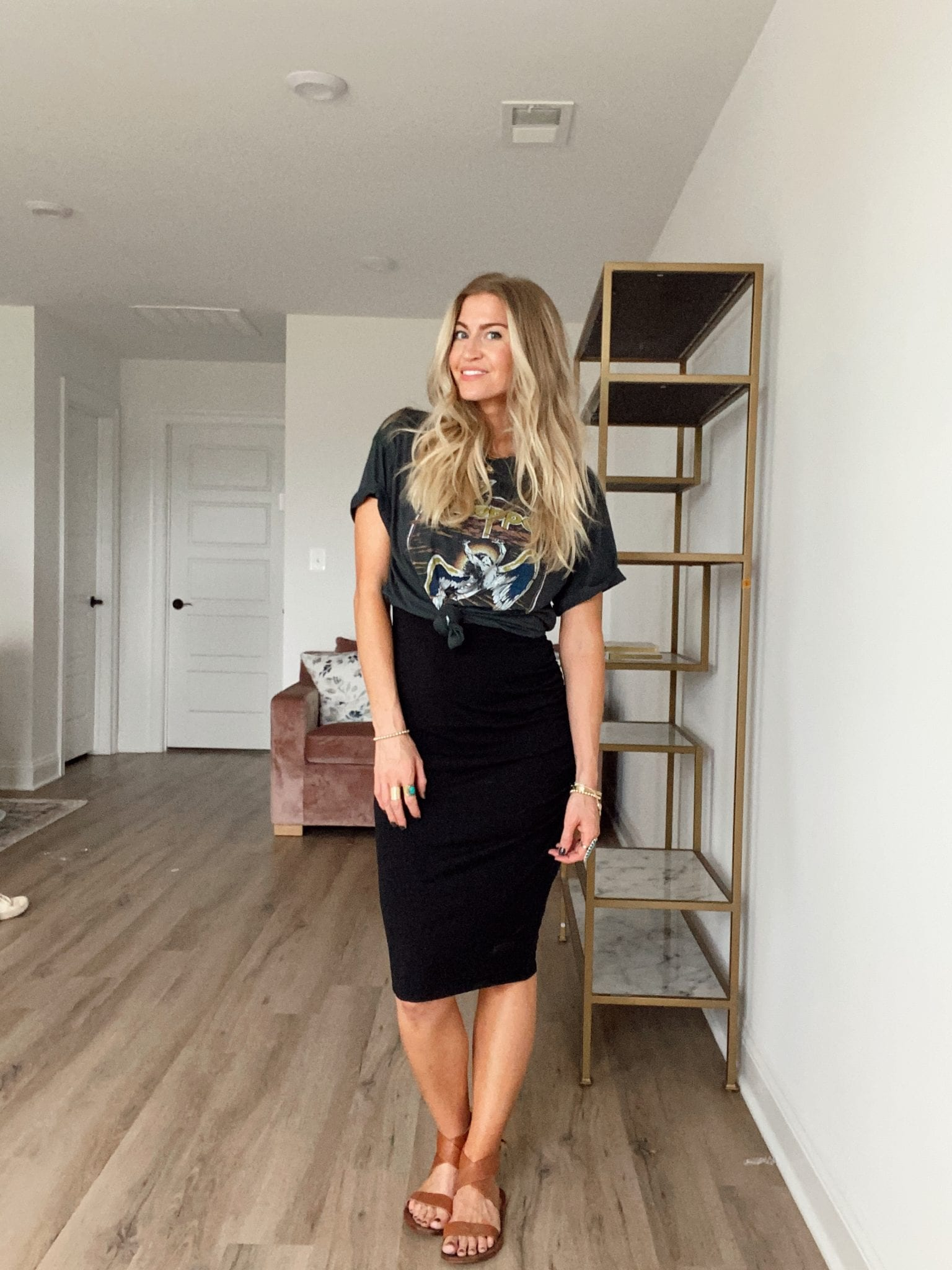 Five ways to style a graphic tee for fall